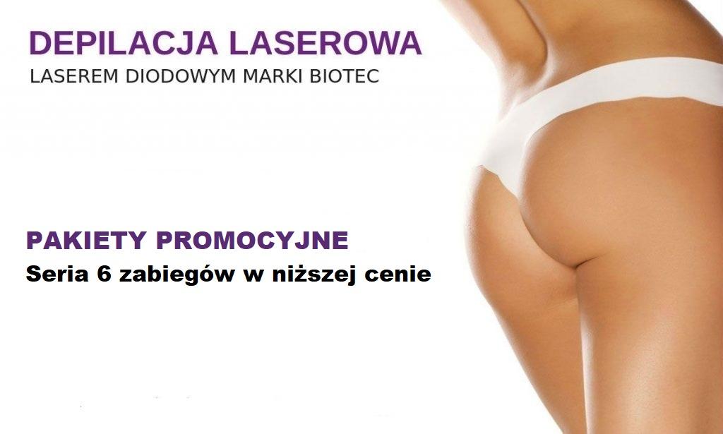 depilacja laserowa Warszawa - Promocja
