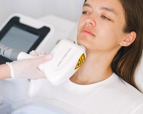 Nieablacyjny resurfacing skóry laserem ND-YAG